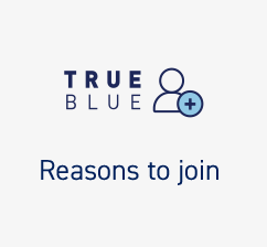 TrueBlue Shopping right promo